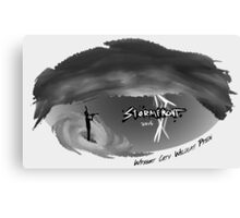 Stormfront Original Design (Variation 3) Canvas Print