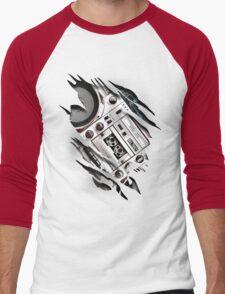 Retro At Heart! Men's Baseball ¾ T-Shirt