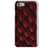 Red Dragon's Scales iPhone Case/Skin