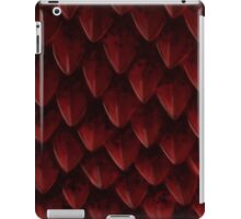 Red Dragon's Scales iPad Case/Skin