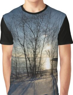 Long Shadows in the Snow Graphic T-Shirt