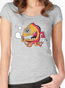 bubble Beast Women's Fitted Scoop T-Shirt