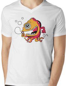 bubble Beast Mens V-Neck T-Shirt