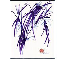 AURA - Orignal Spiritual Zen Bamboo painting Photographic Print