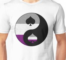 Asexual Yin and Yang Unisex T-Shirt
