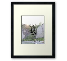 Views - The Bluffs Framed Print