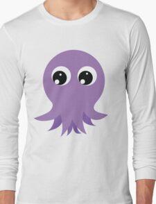 Cute Octopus Long Sleeve T-Shirt