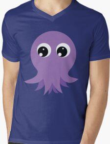 Cute Octopus Mens V-Neck T-Shirt