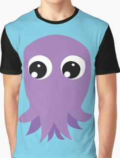 Cute Octopus Graphic T-Shirt
