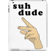 Suh Dude meme | Black Letters iPad Case/Skin
