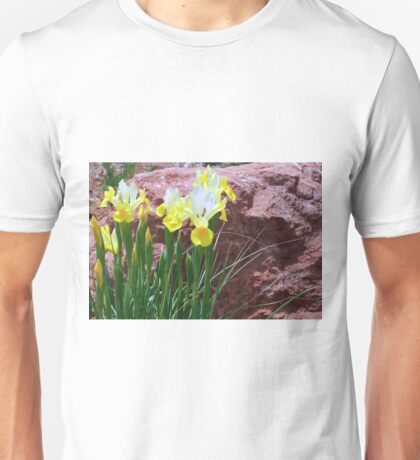Sedona Iris and Red Rocks Unisex T-Shirt