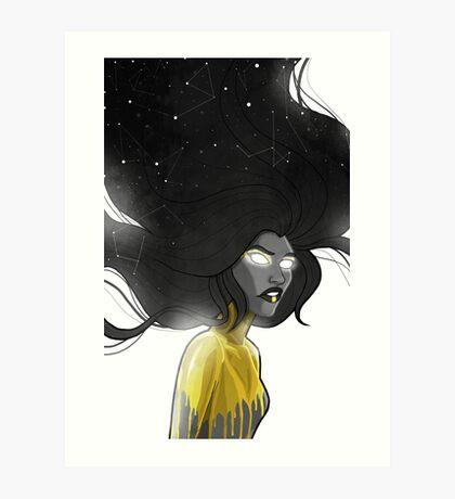 Falling Faster Art Print