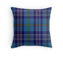 00570 Citadel Military Academy Tartan  Throw Pillow