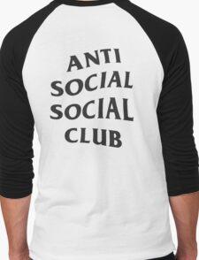 Anti Social Social Club ASSC High Quality Design Men's Baseball ¾ T-Shirt