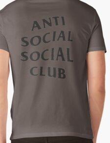 Anti Social Social Club ASSC High Quality Design Mens V-Neck T-Shirt