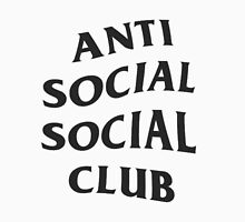 Anti Social Social Club ASSC High Quality Design Unisex T-Shirt