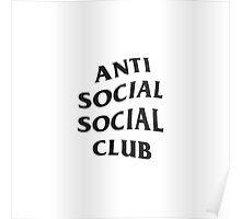 Anti Social Social Club ASSC High Quality Design Poster
