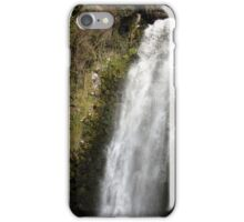 Water Rushing Over the Peguche Waterfall iPhone Case/Skin