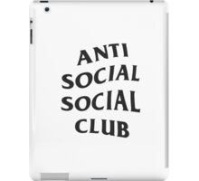 Anti Social Social Club ASSC High Quality Design iPad Case/Skin