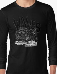 I liked Wavves Before they were cool  Long Sleeve T-Shirt