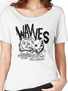 I liked Wavves Before they were cool  Women's Relaxed Fit T-Shirt