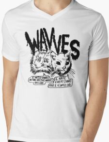 I liked Wavves Before they were cool  Mens V-Neck T-Shirt