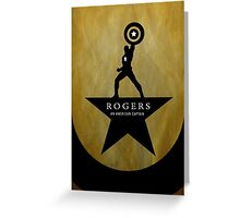 Rogers - An American Captain Greeting Card