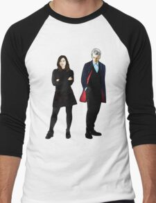 The Doctor and Clara Men's Baseball ¾ T-Shirt