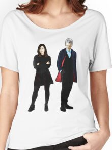 The Doctor and Clara Women's Relaxed Fit T-Shirt
