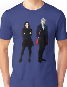 The Doctor and Clara Unisex T-Shirt