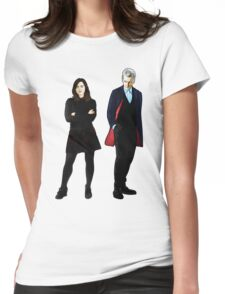 The Doctor and Clara Womens Fitted T-Shirt