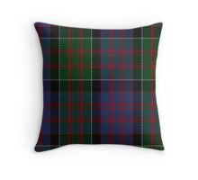 00572 MacDonald of Clanranald Tartan Throw Pillow