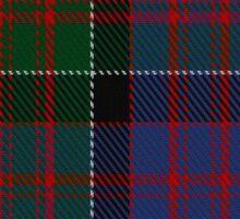 00572 MacDonald of Clanranald Tartan Sticker
