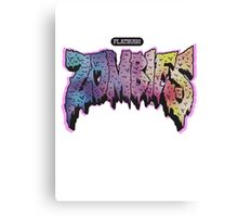 Flatbush Zombies logo  Canvas Print