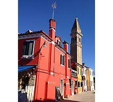 Burano Italy Photographic Print