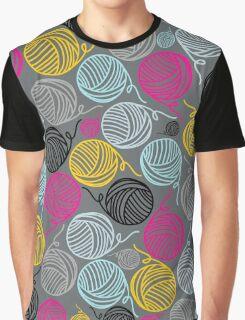 Yarn Yarn Yarn Yarn Yarn Graphic T-Shirt