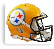 Steelers Helmet Canvas Print