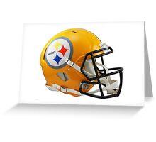 Steelers Helmet Greeting Card