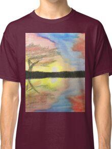 Sunset- Tree Classic T-Shirt