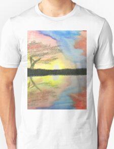 Sunset- Tree T-Shirt