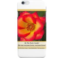 Party Fun - Just the way you like it.  iPhone Case/Skin