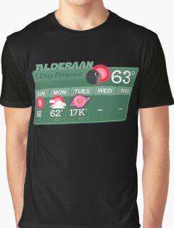 Alderaan 5 day weather Graphic T-Shirt