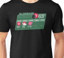 Alderaan 5 day weather Unisex T-Shirt