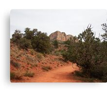 Hiking Bell Rock Canvas Print
