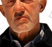 Mike Ehrmantraut - Breaking Bad Sticker