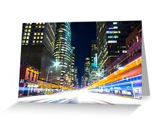 The Bright City Greeting Card