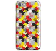 Mickey head pattern iPhone Case/Skin