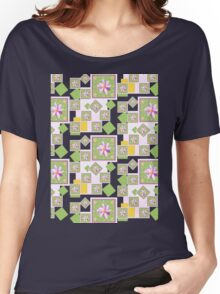 Pink Wildflower Women's Relaxed Fit T-Shirt