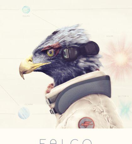 Star Team - Falco Sticker