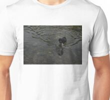 Crystal Clear Water Play - the Splashing Puppy Unisex T-Shirt